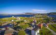 Historical Trinity Newfoundland from air