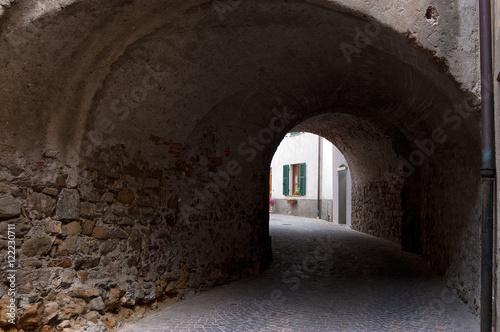 Castelnuovo Magra small ancient village in the province of La Spezia, Liguria, Italy