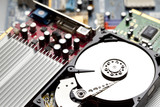Open Hard disk drive - 122238583