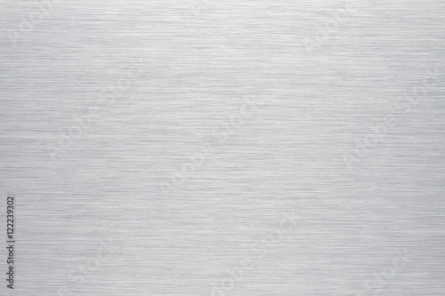 Leinwandbild Motiv Brushed aluminum background or texture