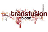 Transfusion word cloud