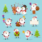 Cute Santa Set - 122257368