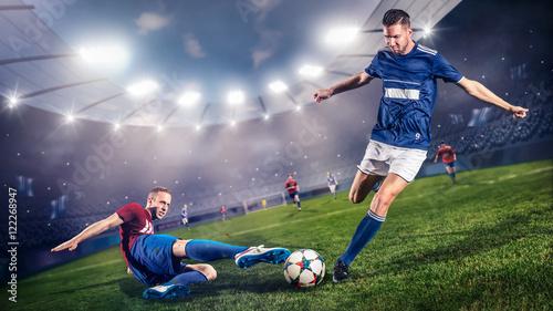 Grający piłkarze