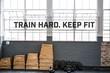 Motivational fitness message