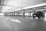Parking garage underground - 122274190