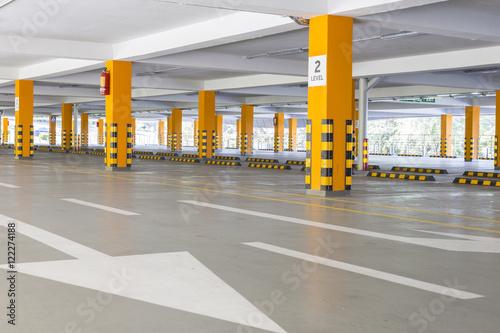 Parking garage underground Plakát