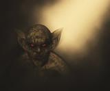 3D Halloween demon