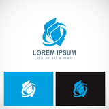 paper document business company logo