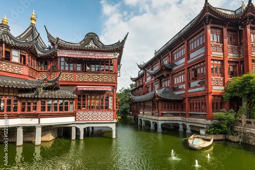 Plakát, Obraz Yu Garden or Yuyuan Garden, Shanghai