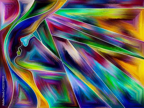 Obraz Energy of Forward Motion
