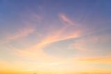 Sunset Sky Background - 122374154