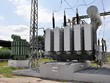 Постер, плакат: big transformers and substation