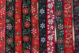 Hungarian belts, painted and embroidered - 122382305