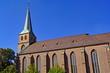Leinwanddruck Bild - Propsteikirche St. Cyriakus in BOTTROP ( Ruhrgebiet )