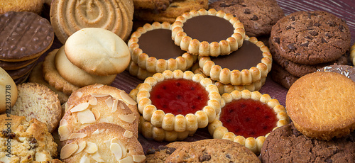 Panoroma sur des biscuits secs © Olivier Tabary