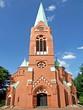 Leinwanddruck Bild - Evangelische Dreifaltigkeitskirche in GELSENKIRCHEN