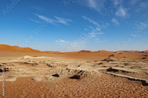 Poster Desert in Namibia - Sossousvlei