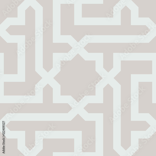 Islamic Geometrical Pattern - 122409327
