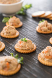 tuna salad cracker