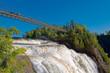 Montmorency Falls near Quebec City, Quebec, Canada