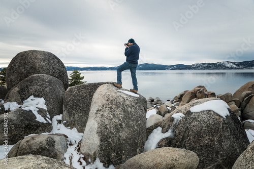 Capturing Magnificent Lake Tahoe Poster