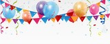 Fototapety Birthday celebration banner