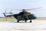 russian military Mi-17 helicopter