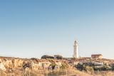 Вид на маяк в Пафосе, Кипр