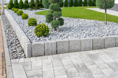 Foto Murales Moderne Gartengestaltung