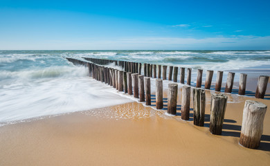 Fototapeta pale na plaży