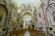 Постер, плакат: Interior of the Church of Santa Maria di Valverde in Palermo Sicily Italy