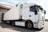 Large cold warehouse (Refrigerated trucks) - 122562949