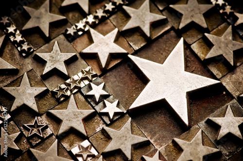 Stars Sepia Poster