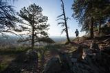 Sunrise trail run