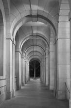 Klassische Korridor von historischer Architektur