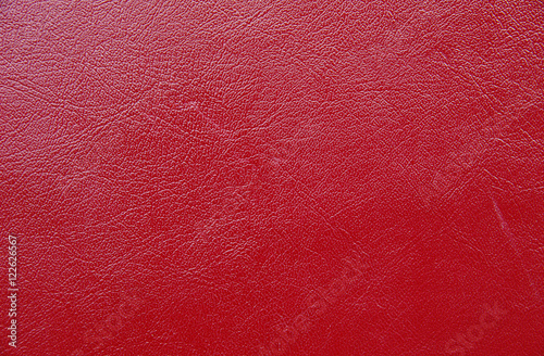 Fototapeta Red paint leather background or texture