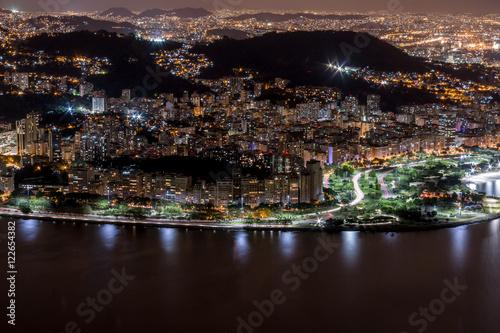 Foto op Aluminium Las Vegas Rio de Janeiro by Night