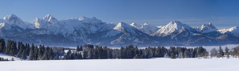 Fototapeta panorama Alpejska