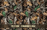 vector camouflage background