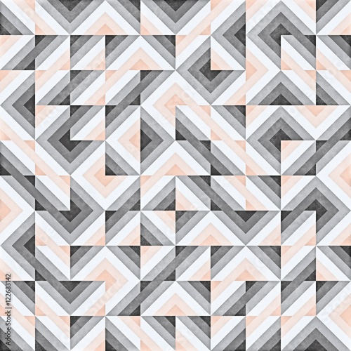 Raster Seamless Geometric Pattern - 122683142