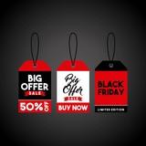 black friday sale poster vector illustration design