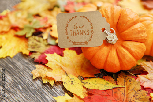 Fall Thanksgiving Background