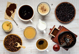 Coffee Brewing and Ingredients
