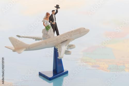新婚旅行のイメージ