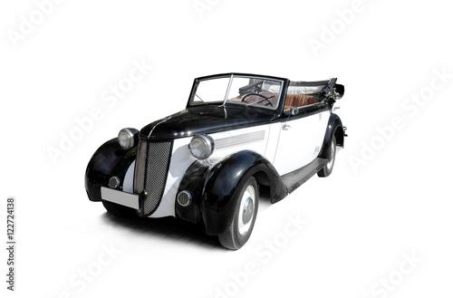 Poster retro car