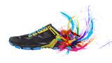 Çok renkli ayakkabı