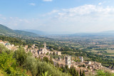 Assisi, Italy. View the city from the top of