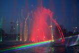 Color fountain show