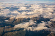 Aerial view of Italian Alps - 122809365