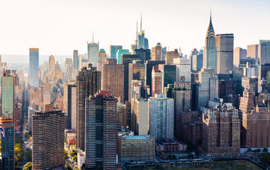 Aerial view of the New York City skyline © Tierney